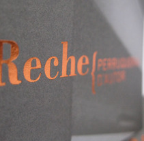 Reche. A Design project by http://www.xavinagore.com  - 03-01-2012