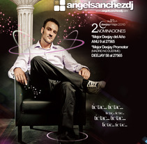 Prensa Deejay Magazine (Ángel Sánchez). A Design, Advertising, Music, and Audio project by KikeNS         - 03.01.2012