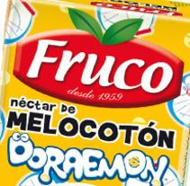 Fruco con licencia Doraemon. Un proyecto de Diseño de Blanca Sánchez-Escribano Vidrié         - 19.01.2012