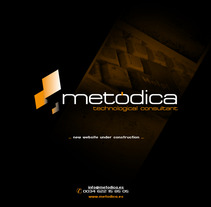 Corporativa y diseño web Metodica. A Design project by Sergio Sala Garcia         - 26.01.2012