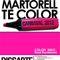 Cartel CARNAVAL MARTORELL 2012. A Design, Illustration, Advertising, Photograph, and UI / UX project by Aitor Avellaneda Garcia         - 28.01.2012
