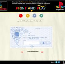 Demo Play With Your Children Web. Un proyecto de Desarrollo de software e Informática de Raúl Canella Vega         - 30.01.2012