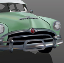 HUDSON HORNET. A Design, Illustration, and 3D project by Sergio Díaz         - 01.02.2012