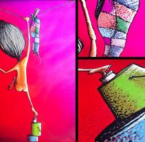 Pintura Sobre Tela. Un proyecto de Diseño e Ilustración de Javier Casanueva G. - 08-02-2012