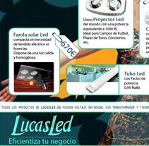 Lucasled. Un proyecto de Diseño, Ilustración y Desarrollo de software de Yolanda González López         - 27.02.2012