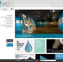 Fundacion Canal Isabel II. Um projeto de Desenvolvimento de software de Kasual Studios         - 05.03.2012