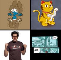 Diseños Serigrafía 3ª parte. A Design&Illustration project by Jorge de la Fuente Fernández         - 05.03.2012