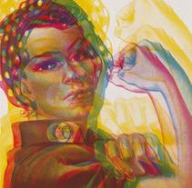 Les Dones ens movem per la igualtat. I tu? . A Design project by Paula Plaza Bergés         - 13.03.2012
