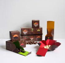 Trozitos (frutas secas con chocolate). Un proyecto de Diseño de Mara Rodríguez Rodríguez         - 15.03.2012