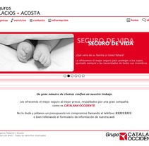Seguros Palacios · Acosta. A Design, Advertising, and Software Development project by Silvia Garcia Palau - 20-03-2012