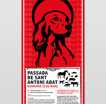 Cartel Abad Dog. A Design, and Advertising project by romanet         - 28.03.2012