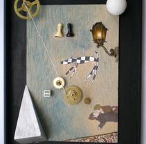 Tiempo parado. Um projeto de Design, Ilustração e Instalações de Beatriz de las Heras Miedes         - 03.04.2012