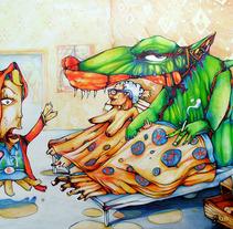 Caperucita Roja. A Design&Illustration project by Burhan Ozgun SEN         - 12.04.2012