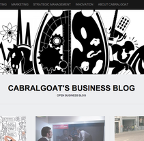 cabralgoat business blog. A Design, Advertising, and UI / UX project by Maria Gabriela Cabral         - 21.04.2012
