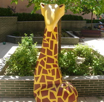 Giraffe. A Photograph, and 3D project by MariaHdez         - 01.06.2012