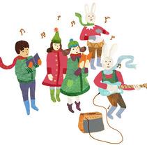 Christmas. Un proyecto de Diseño e Ilustración de Albert Aromir Ayuso - 17-05-2012