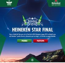 Heineken Star Final. Un proyecto de Desarrollo de software de Sergio García Sanjuán         - 17.05.2012