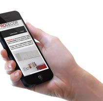 Web Cocinas Prodecor. Un proyecto de Diseño, Desarrollo de software e Informática de Mireia  Llobera Escorsa - Sábado, 19 de mayo de 2012 15:37:22 +0200