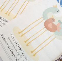 Harper´s Bazaar Mayo 2012. A Design, Illustration, and Advertising project by Gabriel Delgado Wicke         - 21.05.2012