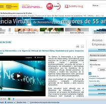 Agencia Virtual de Networking para mayores 55. Un proyecto de Diseño y Desarrollo de software de Jose Lorenzo Espeso         - 24.05.2012