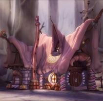 La casita de chocolate  (Hansel y Gretel). Um projeto de Cinema, Vídeo e TV e 3D de Alexis Lanau         - 08.06.2012