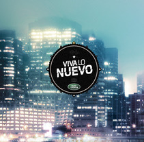 LAND ROVER // VIVA LO NUEVO!. A Design, Illustration, Advertising, and Motion Graphics project by Nacho Gallego         - 03.03.2013