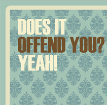 DOES IT OFFEND YOU. A Illustration project by MADFACTORY estudio         - 13.07.2012