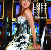 Fotografía y publicidad tienda Loft. A Design project by Silvia Herrera Graphic Designer         - 26.07.2012
