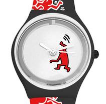 Colección de relojes Keith Haring. A Design project by Álvaro Infante         - 29.07.2012