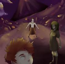 Volcan. Un proyecto de Ilustración de Amanda Pérez Santana         - 31.07.2012