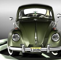 Modelando el Escarabajo de mis Fantasías. A 3D project by Alfredo Amayo         - 03.08.2012