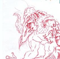 varios dibujos a boli. A Illustration project by Jose Joaquin Andreu Macia         - 19.08.2012
