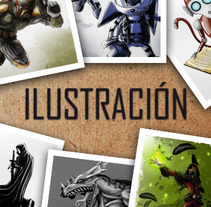 Ilustración. Um projeto de Ilustração de Aythami Santana Montesdeoca         - 23.08.2012
