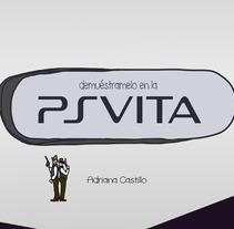Demuéstramelo en la Vita. Un proyecto de Diseño, Ilustración y Publicidad de Adriana Castillo García         - 23.08.2012