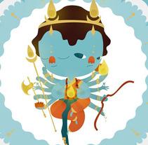 AGNI, dios del fuego. Un proyecto de Ilustración de Julia Roig Hidalgo         - 31.08.2012
