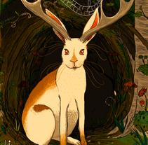 Jackalope. A Illustration project by Victoria Haf         - 12.09.2012
