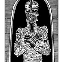 Momia. Un proyecto de Ilustración de Sergio Covelo Moreira - 25-09-2012
