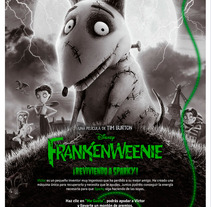 Frankenweenie. A Advertising, and Software Development project by Javier Fernández Molina         - 26.09.2012