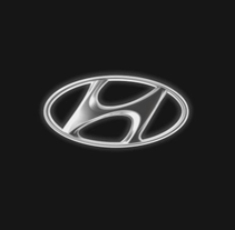 Flying logo Hyundai. A Design, Advertising, Motion Graphics, Film, Video, TV, and 3D project by Alberto Arteche         - 02.10.2012