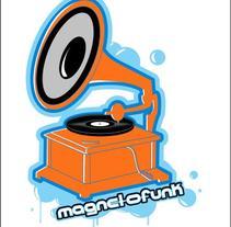 Pegatinas Magnetofunk. A Design project by Ozonozero         - 03.10.2012