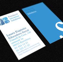 FIS - logo + tarjeta. A Design project by Nadie Diseña - Oct 23 2012 12:40 AM
