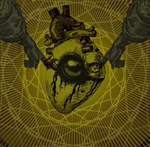AATHMA + CEMENTERIO + EL DESVAN DEL MACHO | poster. A Design, Illustration, Advertising, Music, Audio, and Photograph project by alejandro escrich - 23-10-2012