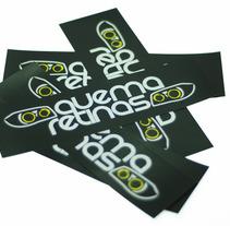 Logo Quemaretinas. A Design&Illustration project by Anna Huguet Bou - 14-11-2012