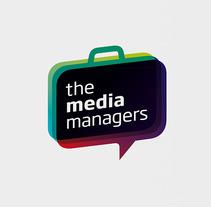 Identidad The media managers. Um projeto de Design e Publicidade de Tomás Castro         - 20.11.2012