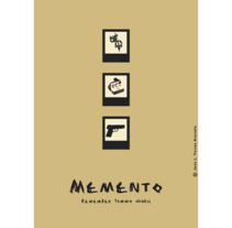 Memento poster. A Illustration, and Advertising project by Jose Luis Torres Arevalo         - 22.11.2012