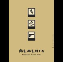 Memento poster. Um projeto de Ilustração e Publicidade de Jose Luis Torres Arevalo         - 22.11.2012