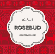 Rosebud Cookies. A Design&Illustration project by Ana V. Francés - Nov 27 2012 12:36 PM