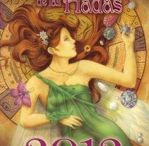 Agendas y calendarios de las hadas 2012 -2013. Um projeto de Ilustração de Veronica  Casas - 19-12-2012