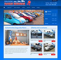 Venta de coches - Desarrollo sitios web con Wordpress. Desarrollador de Wordpress. Um projeto de Design, Desenvolvimento de software e Fotografia de Alex         - 31.12.2012