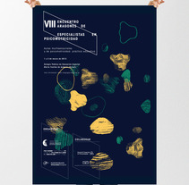 VIII Encuentro de Psicomotricistas de Andorra. A Design, Illustration, and Advertising project by Jose  Palomero - 11-01-2013